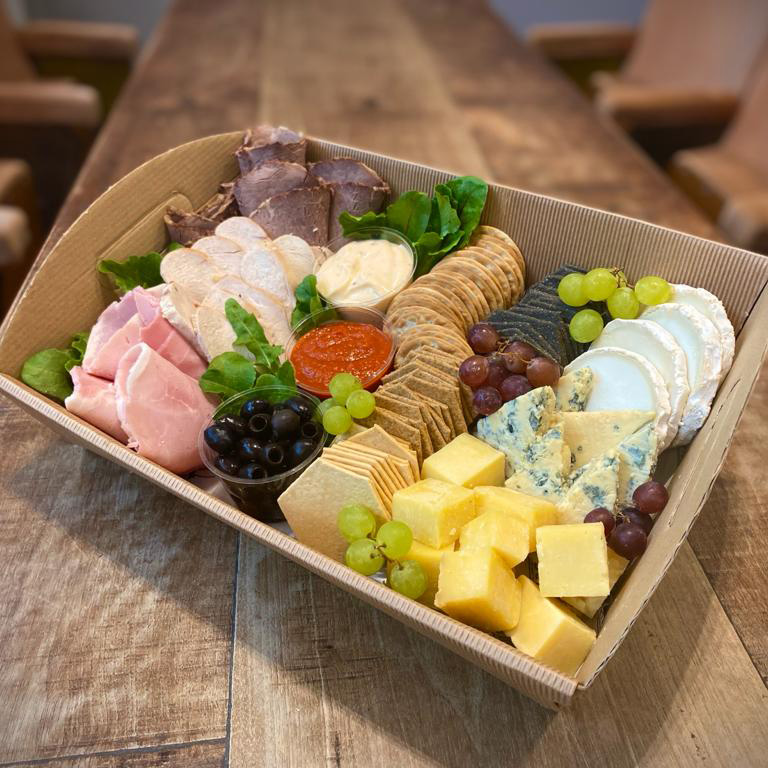 Cheese & Meat Grazing Tray